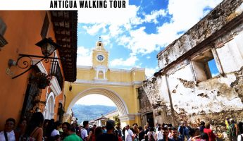 Antigua Walking